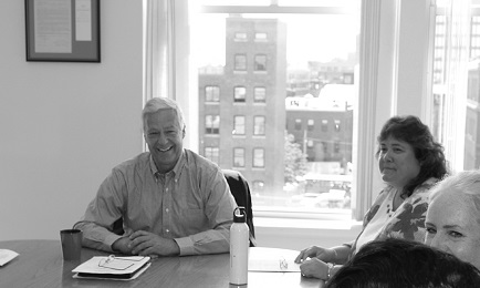 Congressman Mike Michaud meeting with MPA board members this summer